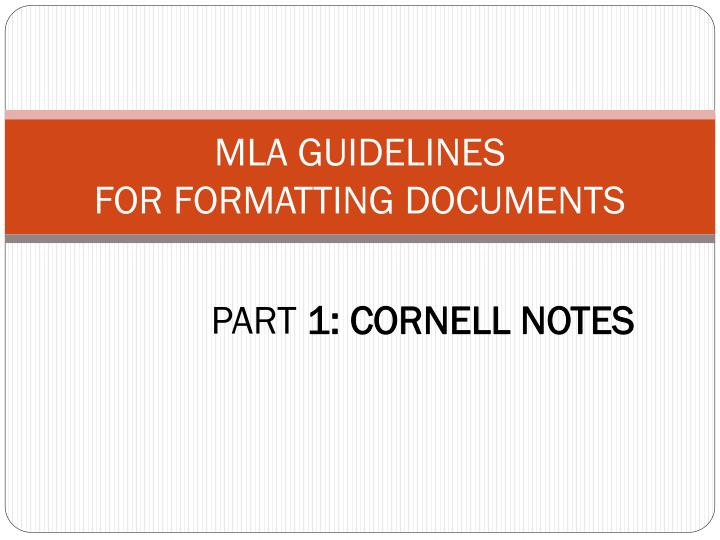 part 1 cornell notes n.