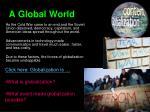 a global world