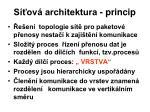 s ov architektura princip