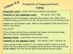 probability of compound events1