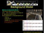 background model