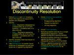 discontinuity resolution1