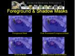 foreground shadow masks