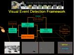 visual event detection framework