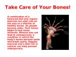take care of your bones