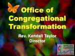 office of congregational transformation