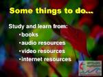 some things to do3