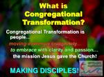 what is congregational transformation