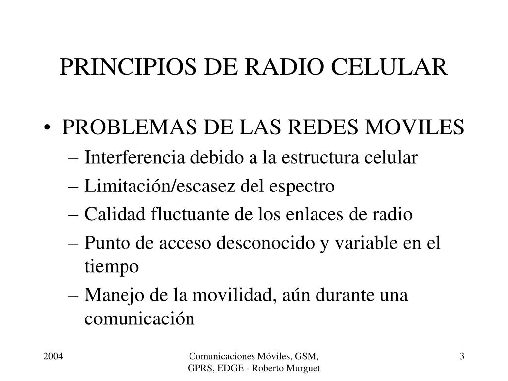 Ppt Principios De Radio Celular Powerpoint Presentation