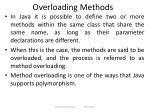 overloading methods
