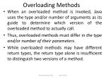 overloading methods1