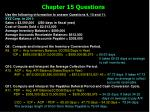 chapter 15 questions14