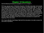 chapter 15 questions17
