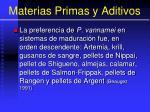 materias primas y aditivos2