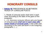honorary consuls