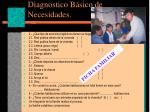 diagnostico b sico de necesidades