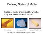 defining states of matter1