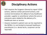 disciplinary actions2