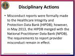 disciplinary actions3