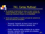 7a1 cartas multivari