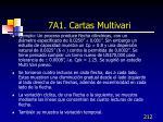 7a1 cartas multivari5