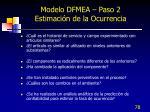 modelo dfmea paso 2 estimaci n de la ocurrencia