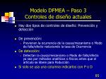 modelo dfmea paso 3 controles de dise o actuales1