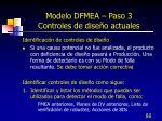 modelo dfmea paso 3 controles de dise o actuales2