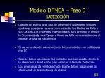modelo dfmea paso 3 detecci n