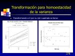 transformaci n para homoestacidad de la varianza7