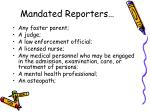 mandated reporters1