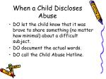 when a child discloses abuse1