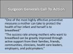 surgeon generals call to action