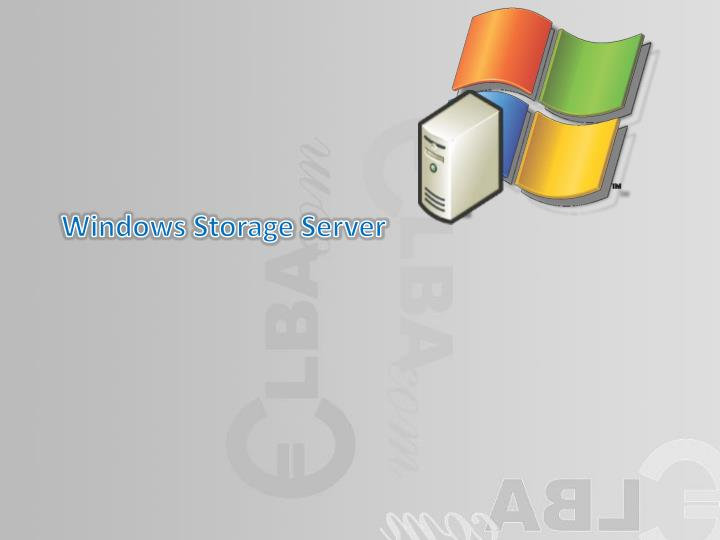 windows storage server n.