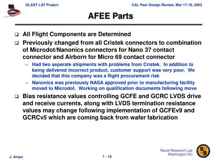 AFEE Parts