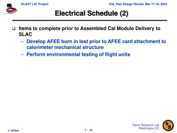 Electrical Schedule (2)