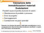 valutazione delle immobilizzazioni materiali svalutazioni1