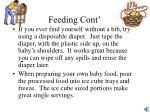 feeding cont