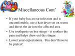miscellaneous cont4
