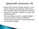 spacecraft structures vii2