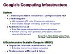google s computing infrastructure1