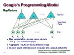 google s programming model