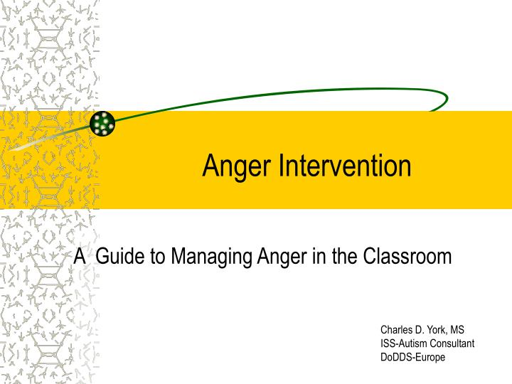 anger intervention n.
