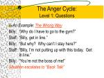 the anger cycle level 1 questions4