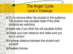 the anger cycle level 4 challenge2