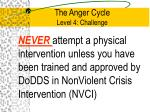 the anger cycle level 4 challenge5