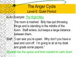 the anger cycle level 6 quiet period4