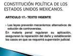 constituci n pol tica de los estados unidos mexicanos