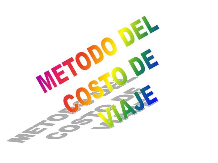 METODO DEL