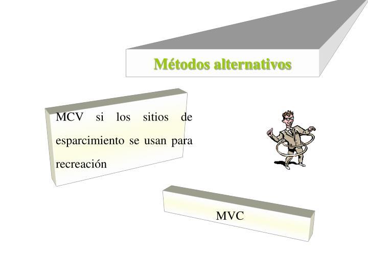 Métodos alternativos